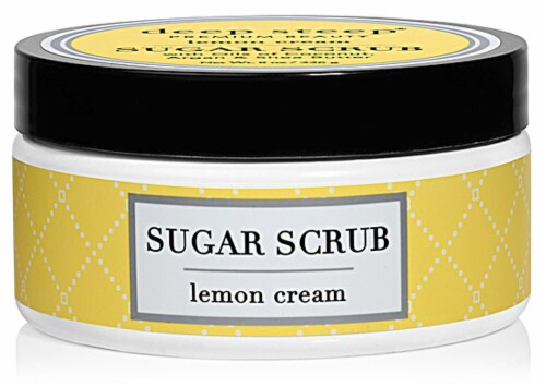 Deep Steep Lemon Cream Sugar Scrub Perspective: front