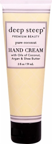 Deep Steep Pure Coconut Hand Cream Perspective: front