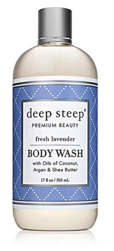 Deep Steep Fresh Lavender Body Wash Perspective: front