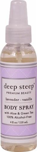 Deep Steep Fresh Lavender Vanilla  Body Spray Perspective: front