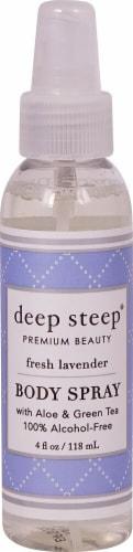 Deep Steep  Body Spray Fresh Lavender Perspective: front
