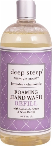 Deep Steep Foaming Hand Wash Refill Lavender - Chamomile Perspective: front