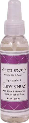 Deep Steep Fig Apricot Body Spray Perspective: front