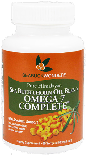 Seabuckwonders Sea Buckthorn Omega-7 Complete Perspective: front