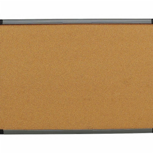 Iceberg Cork Board 36x24,Charcoal Frame  35037 Perspective: front