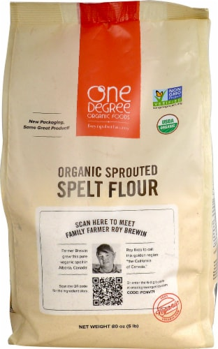 One Degree Spelt Flour Perspective: front