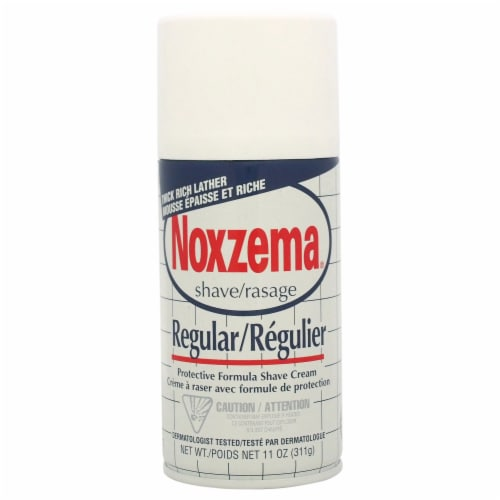 Noxzema Regular Protective Formula Shave Cream 11 oz Perspective: front