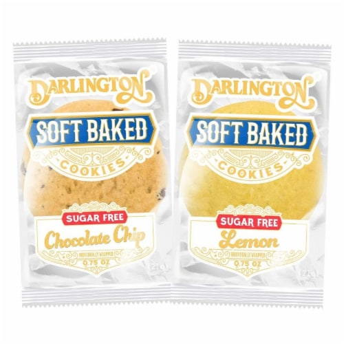 Darlington Sugar Free Assorted Cookies, 0.75 Ounce -- 212 per case Perspective: front