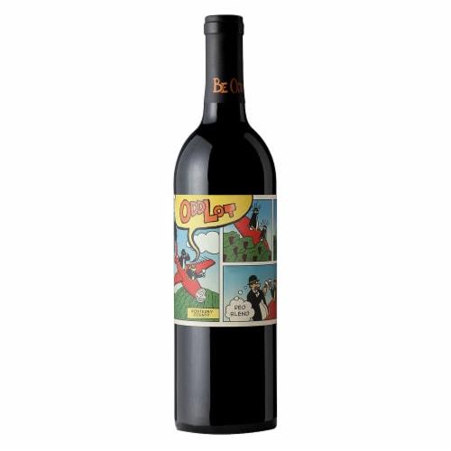 Odd Lot Cabernet Sauvignon-Syrah Red Blend Wine Perspective: front