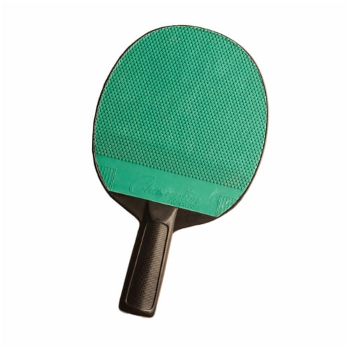 Champion Sports CHSPN4BN Rubber Plastic Table Tennis Paddle, Pack of 6 Perspective: front