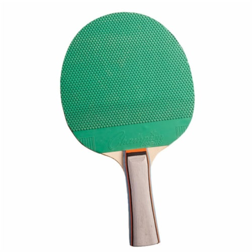 Champion Sports CHSPN1BN Rubber Wood Table Tennis Paddle, Pack of 6 Perspective: front
