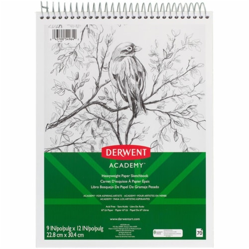 Mead Products MEA54964BN 9 x 12 in. Wirebound Sketchbook, Pack of 3 Perspective: front