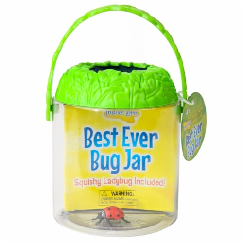 Insect Lore 3 Each Best Ever Bug Jar Perspective: front