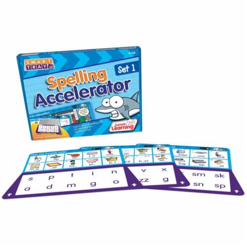 Junior Learning JRL102BN Smart Tray Spelling Accelerator Set 1 - Set of 2 Perspective: front