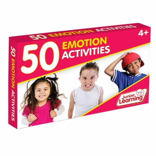 Junior Learning JRL357BN 2 Each 50 Emotion Activity Cards Perspective: front