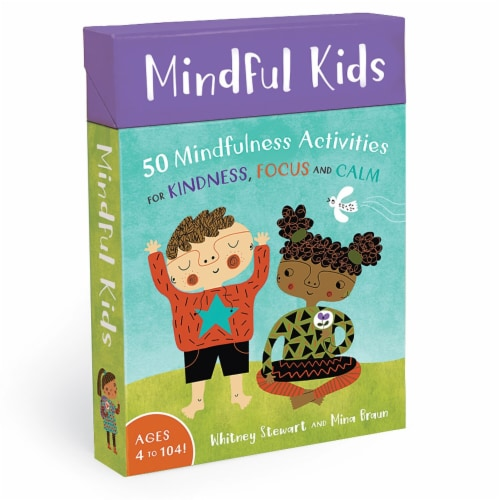Barefoot Books BBK9781782853275BN 2 Each Mindful Kids Activity Cards Perspective: front