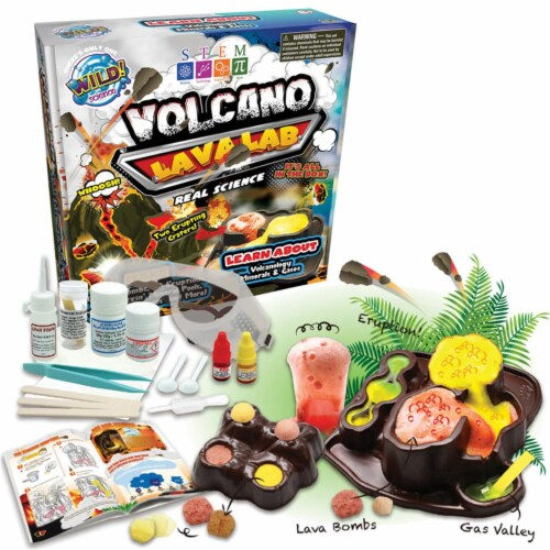 Learning Advantage CTUWS065LBN 2 Each Volcano Lava Lab Perspective: front