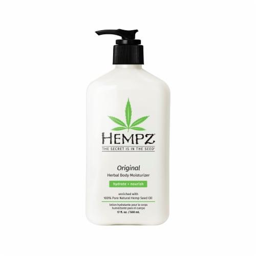 Hempz Original Herbal Body Moisturizer Perspective: front
