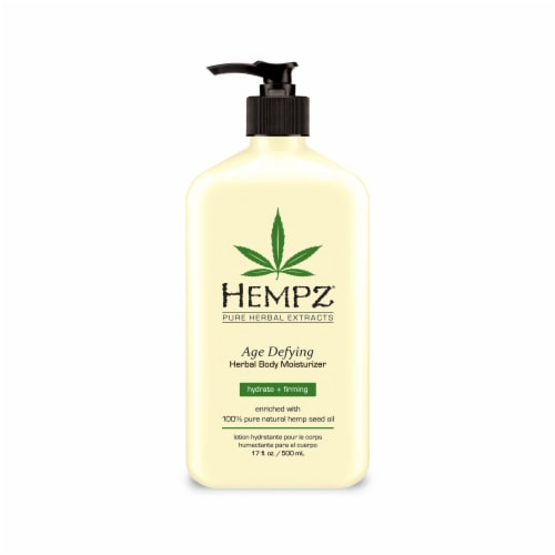 Hempz Age Defying Herbal Body Moisturizer Perspective: front