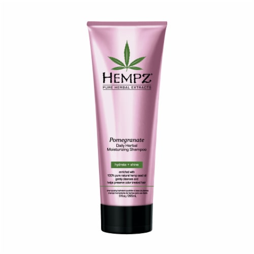Hempz Pomegranate Daily Herbal Moisturizing Shampoo Perspective: front