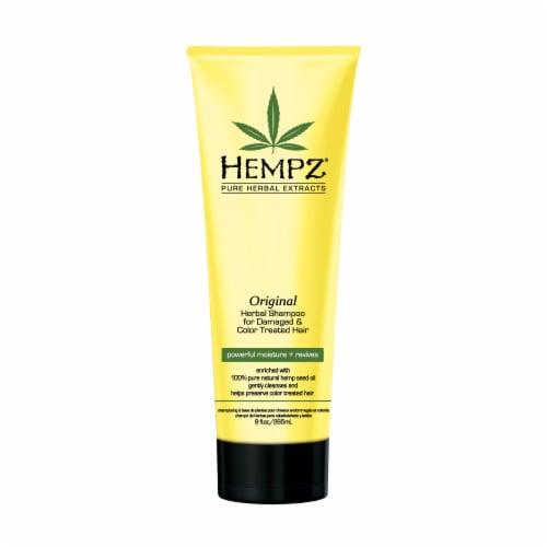 Hempz Pure Herbal Extracts Original Herbal Shampoo Perspective: front