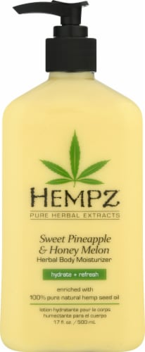 Hempz Sweet Pineapple & Honey Melon Herbal Body Moisturizer Perspective: front