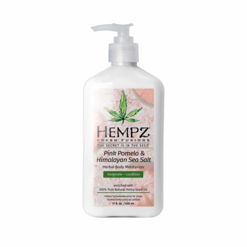 Hempz Pink Pomelo & Himalayan Sea Salt Herbal Body Moisturizer Perspective: front