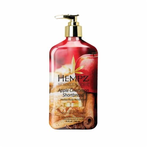 Hempz Apple Cinnamon Shortbread Herbal Body Moisturizer Perspective: front