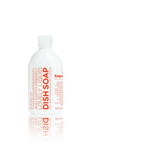 Sapadilla  Grapefruit Scent Liquid  Dish Soap  16 oz. 1 pk - Case Of: 6; Perspective: front