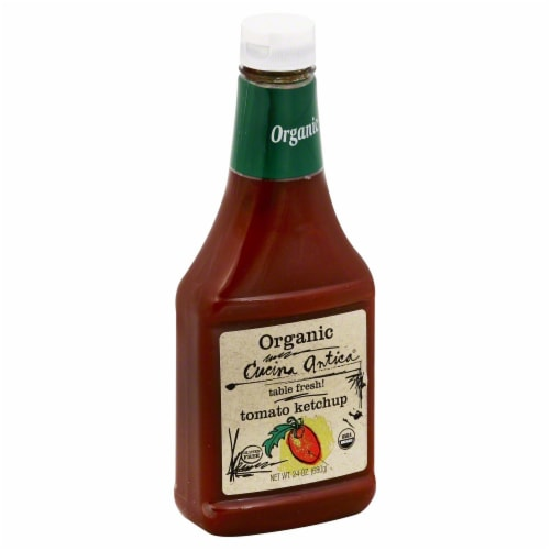 Cucina Antica Organic Tomato Ketchup Perspective: front