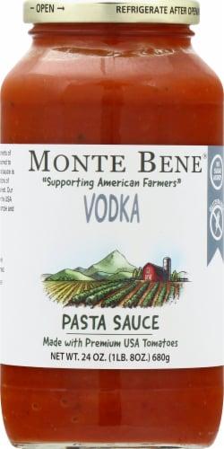 Monte Bene Vodka Pasta Sauce Perspective: front