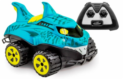 Kid Galaxy Morphibian Shark Remote Control Vehicle Perspective: front