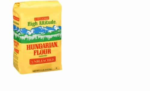 High Altitude Unbleached Hungarian Flour Perspective: front