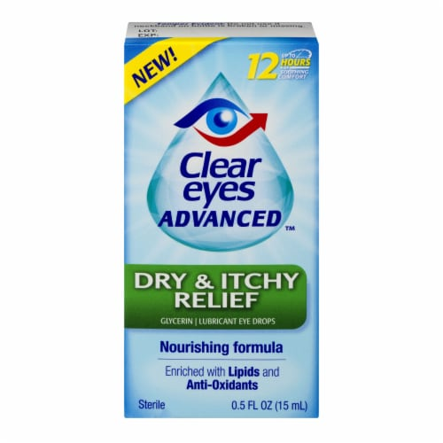 Clear Eyes Advanced Dry and Itchy Perspective: front