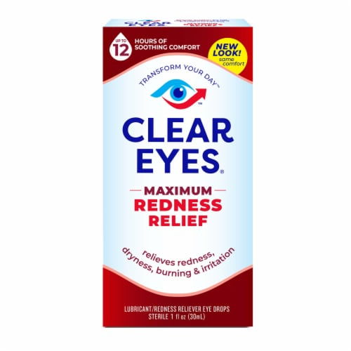 Clear Eyes Maximum Redness Relief Eye Drops Perspective: front