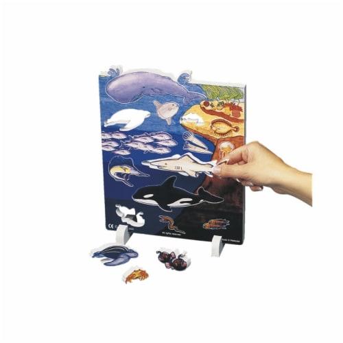 Book Plus 131-5645 Ocean Habitat Model Perspective: front