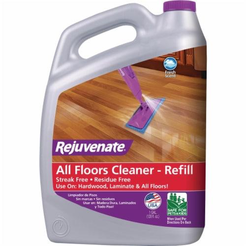 Rejuvenate  Fresh Scent Floor Cleaner Refill  Liquid  1 gal. - Case Of: 2; Perspective: front