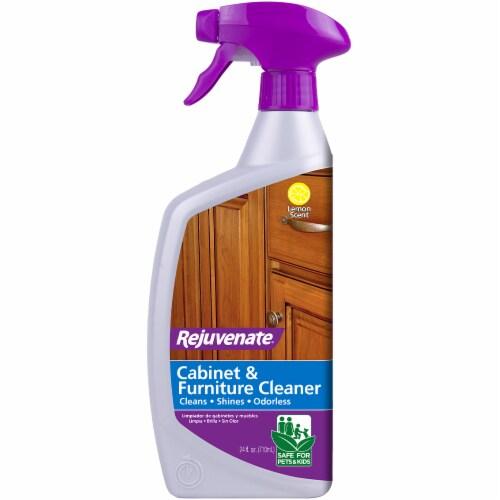Rejuvenate Lemon Scent Cabinet & Furniture Cleaner Perspective: front