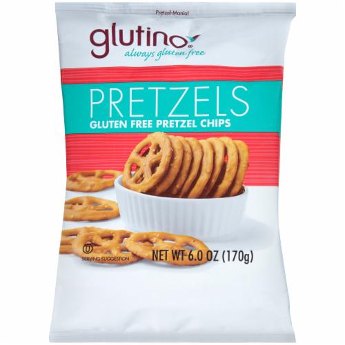 Glutino Pretzel Chips Perspective: front