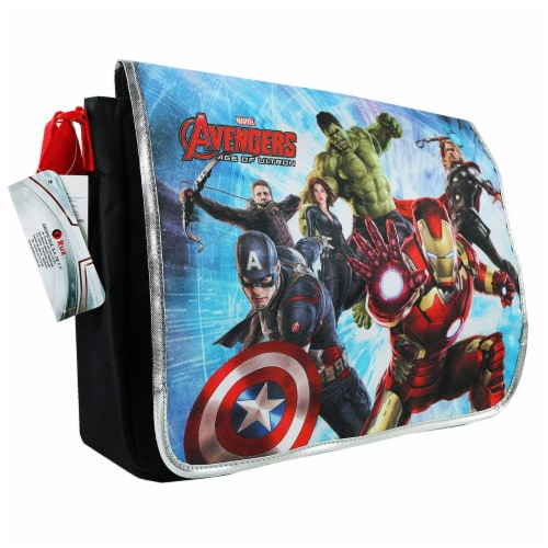 The Avengers Messenger Book Bag Perspective: front