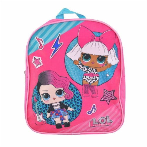 LOL Surprise Mini School Backpack - Rock n Roll 12 Inches Perspective: front