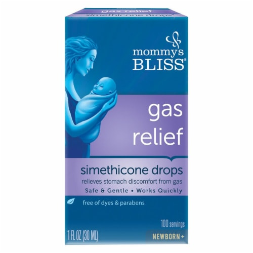 Mommy's Bliss Gas Relief Simethicone Drops Newborn Perspective: front