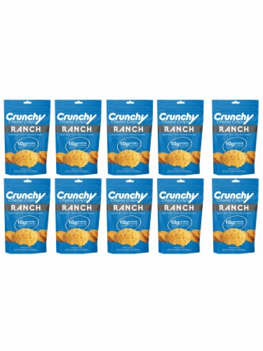 Ranch Crunchy Cheese Crisps, Made with 100% All Natural Cheese, Keto Friendly, Gluten Free Perspective: front