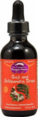 Dragon Herbs  Goji & Schizandra Drops Perspective: front