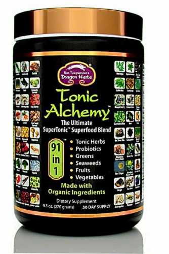Dragon Herbs  Tonic Alchemy™ 91 in 1™ Perspective: front