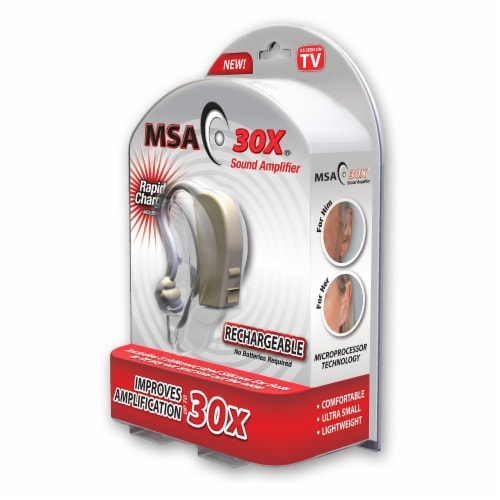 MSA 30X -Personal Sound Amplifier Perspective: front