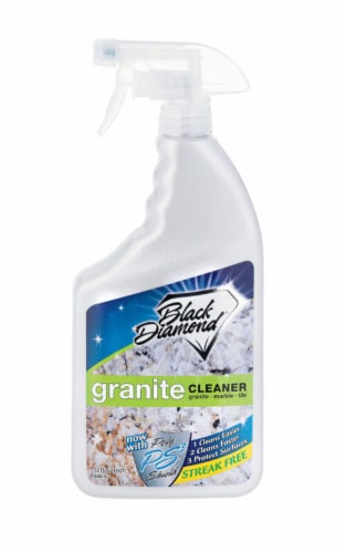 Black Diamond Stoneworks  Clean Scent Granite Cleaner  32 oz. Spray - Case Of: 6; Perspective: front