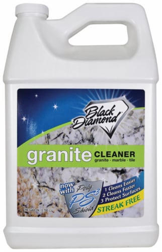 Black Diamond Stoneworks  Clean Scent Granite Cleaner  1 gal. Liquid - Case Of: 4; Perspective: front