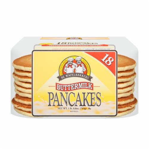 De Wafelbakkers Buttermilk Pancakes Perspective: front