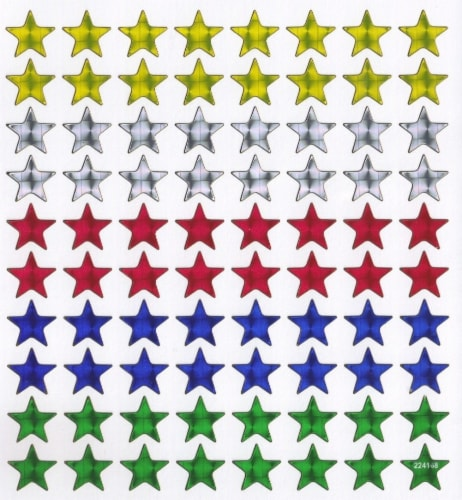 StickerKing Fantasy Star Stickers Perspective: front